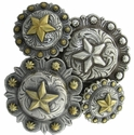 Star Berry Starberry Western Conchos
