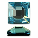 Swarovski Square Rhinestone 25mm in Aquamarine