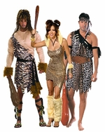 Caveman & Jungle Adult Costumes