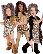 Caveman & Jungle Kids Costumes