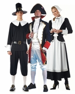 Colonial & Pilgrim Adult Costumes