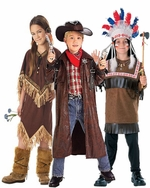 Cowboy & Indian Kids Costumes