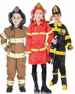 Firefighter Kids Costumes