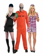 Funny Convict Adult Costumes