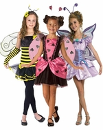 Insect & Flower Kids Costumes