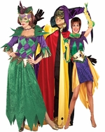Mardi Gras Adult Costumes