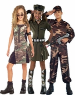 Military Kids Costumes