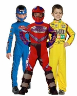 Race Car Driver Kids Costumes