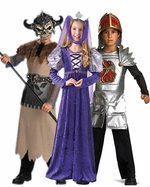 Renaissance & Princess Kids Costumes