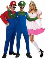 Super Mario Brothers Costumes