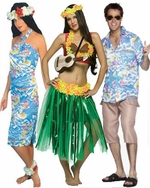 Tropical & Luau Group Costumes