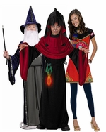 Wizard & Sorceress Kids Costumes