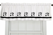 Ballet Shoes Window Valance
