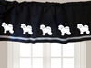 Window Valance by Dog Breed
