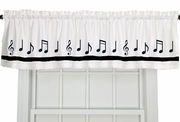 Window Valance - Music/Musical Instruments