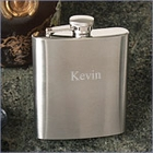 8oz Satin Matted Finish Flask
