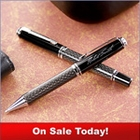 Carbon Fiber Business Personalized Pen Set