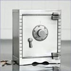 Pewter Personalized Vault Bank