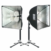 Softboxes & Continuous Lighting