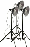 TableTop Studio Three Light Set