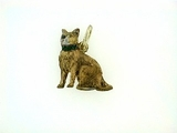 Abyssinian F12Y/Rhodium Chocolate/11-Tsavoite & Yellow D Eyes