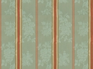 BRUNSCHWIG & FILS HARMONY STRIPE COTTON FABRIC AQUA