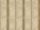 BRUNSCHWIG & FILS HARMONY STRIPE COTTON FABRIC CREAM