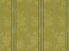 BRUNSCHWIG & FILS HARMONY STRIPE COTTON FABRIC GREEN