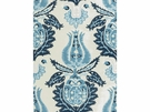 KRAVET COUTURE ART OF DESIGN UPHOLSTERY FABRIC BLUE WHITE