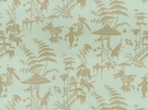 KRAVET COUTURE / BARBARA BARRY INDO NIGHT LINEN FABRIC MOONSTONE