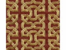 KRAVET COUTURE CEYLON KEY EMBOIDERED LINEN FABERIC IMPERIAL