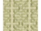 KRAVET COUTURE CEYLON KEY EMBOIDERED LINEN FABERIC WILLOW