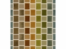 KRAVET COUTURE COLOR BLOCKS VELVET FABRIC AMBER LEAF