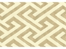 KRAVET COUTURE KEY TO MY HEART FABRIC NATURAL