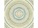 KRAVET COUTURE PAINTED MOSAIC JACQUARDS FABRIC VAPOR BLUE