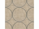 KRAVET COUTURE RING LEADER EMBOIDERED LINEN FABERIC NATURAL