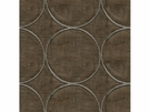 KRAVET COUTURE RING LEADER EMBOIDERED LINEN FABERIC SABLE