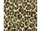 KRAVET COUTURE LEOPARD ANIMAL VELVET FABRIC ANTHRACITE