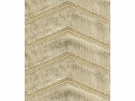 KRAVET COUTURE ZIGZAG PLUSH VELVET FABRIC TRAVERTINE