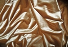 KRAVET DESIGNS PLUSH VELVET FABRIC GOLD