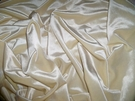 KRAVET DESIGNS PLUSH VELVET FABRIC VANILLA CREAM