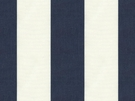 KRAVET MINI DECK STRIPED COTTON FABRIC INDIGO