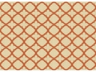 KRAVET MOROCCAN ABNET FABRIC BEIGE ORANGE