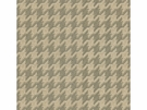 KRAVET SMART HOUNDSTOOTH UPHOLSTERY FABRIC BEIGE/GRAY