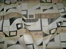 LEE JOFA  KRAVET ART NOUVEAU DECO GEOMETRIC BROCADE CHENILLE FABRIC