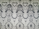 PIERRE FREY ROMANEX DE BOUSSAC FRENCH NEOCLASSICAL TOILE FABRIC 8 YARDS 1A