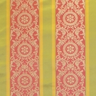 SCALAMANDRE MUSEUM PROJECT STRIPE SILK DAMASK FABRIC LIMITED AVAILABILITY SPECIAL - 5 YARD MINIMUM