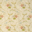 SCALAMANDRE PANSY SILK LAMPAS DAMASK FABRIC LIMITED AVAILABILITY SPECIAL -5 YARD MINIMUM