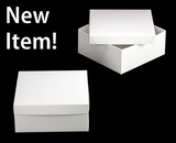 "1719x3480 - 14"" x 14"" x 6"" White/White Lock & Tab Box Set, without Window 50 COUNT"