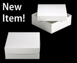 "1797x3482 - 16"" x 16"" x 6"" White/White Lock & Tab Box Set, without Window 50 COUNT"